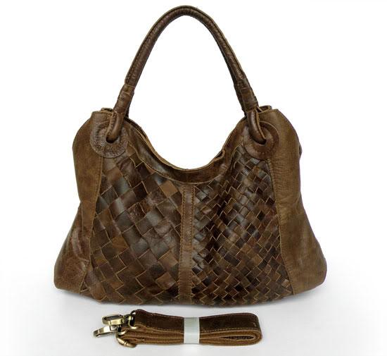 Woven Leather Handbags On Wanelo 3098r Brown Unique Lady Handag Shoulder Bag Sling Wine Red Braided For Women Cwmalls Bottega